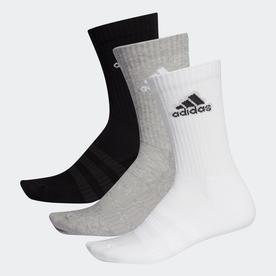 クッション クルー ソックス 3足組み [Cushioned Crew Socks 3 Pairs] (グレー)