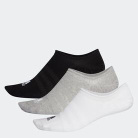 ノーショー ソックス 3足組み [No-Show Socks 3 Pairs] (グレー)