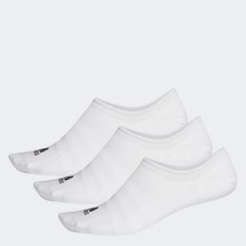 ノーショー ソックス 3足組み [No-Show Socks 3 Pairs] (ホワイト)