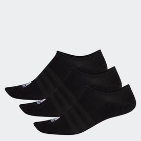 ノーショー ソックス 3足組み [No-Show Socks 3 Pairs] (ブラック)