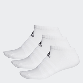 クッション ローカット ソックス 3足組み [Cushioned Low-Cut Socks 3 Pairs] (ホワイト)