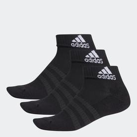 クッション アンクル ソックス 3足組み [Cushioned Ankle Socks 3 Pairs] (ブラック)