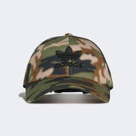 CAMO BBALL CAP (ブラウン)