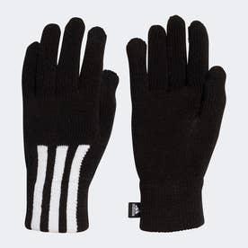 3ストライプス コンダクティブ グローブ / 3-Stripes Conductive Gloves (ブラック)