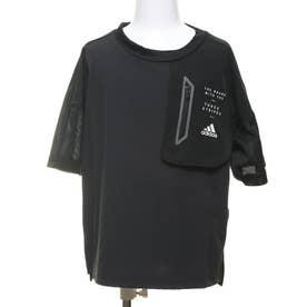 ジュニア 半袖機能Tシャツ BDAウーブンTシャツ FM2916