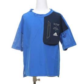 ジュニア 半袖機能Tシャツ BDAウーブンTシャツ FM2918