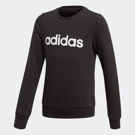 リニア スウェットシャツ / Linear Sweatshirt (ブラック)