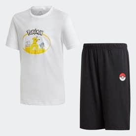 ポケモン 半袖セットアップ / Pokemon Short Sleeve Set (ホワイト)