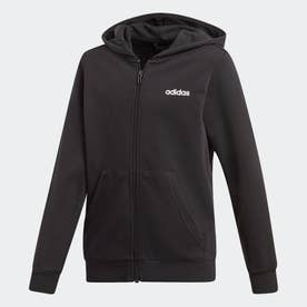 エッセンシャルズ リニア パーカー / Essentials Linear Hoodie (ブラック)