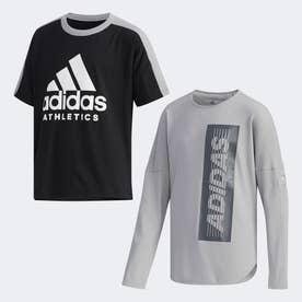 スポーツ ID ツーインワン Tシャツ / Sport ID 2-in-1 Tee (ブラック)