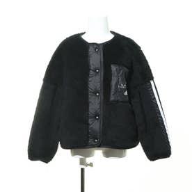 ジュニア フリースジャケット GBOAジャケット GD9133 (ブラック)