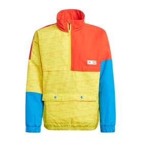 LEGO ブロック ハーフジップ ウォームジャケット / LEGO Bricks Half-Zip Warm Jacket (イエロー)
