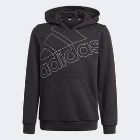 エッセンシャルズ ロゴパーカー / Essentials Logo Hoodie (ブラック)