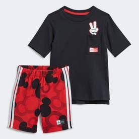 ディズニー ミッキーマウス サマーセットアップ / Disney Mickey Mouse Summer Set (ブラック)
