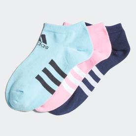 ローソックス 3足組 / Low Socks 3 Pairs (ピンク)