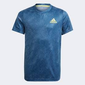 HEAT. RDY テニス PRIMEBLUE フリーリフト半袖Tシャツ / HEAT. RDY Primeblue Tennis Freelift Tee (ブルー)