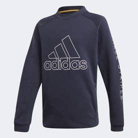 クルー トレーニング スウェットシャツ / Crew Training Sweatshirt (ブルー)