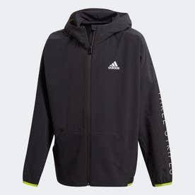 トレーニングミックスジャケット / Training Mix Jacket (ブラック)