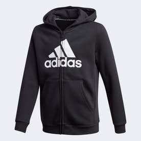 マストハブ フリース フルジップ パーカー / Must Haves Fleece Full-Zip Hoodie (ブラック)