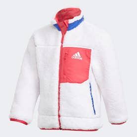リバーシブル ボアジャケット / Reversible BOA Jacket (ホワイト)