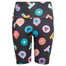 YG LEGO DOTS SHORT TIGHTS (ブラック)