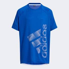 バッジ オブ スポーツ 半袖Tシャツ / Badge of Sport Tee (ブルー)