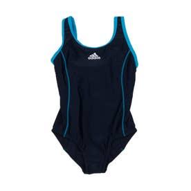 ジュニア 水泳 スクール水着 BOS Swimsuit Girl FI8269 【返品不可商品】 (ネイビー)