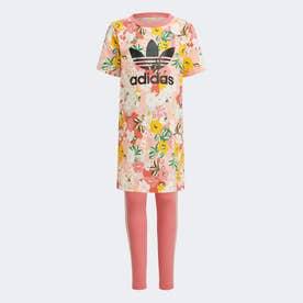 TEE DRESS SET (ピンク)