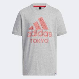 【HIROKO TAKAHASHI COLLECTION】半袖Tシャツ / Short Sleeve Tee (グレー)