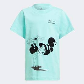 ディズニー Comfyプリンセス 半袖Tシャツ / Disney Comfy Princesses Tee (グリーン)