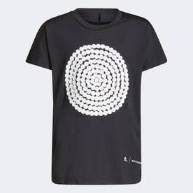 マリメッコ PRIMEGREEN AEROREADY ルーズ&ロンガー グラフィック 半袖Tシャツ / Marimekko  Loose and Longer Graphic