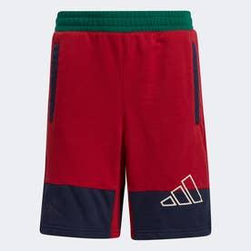リトルストライプ ショーツ / Lil Stripe Shorts (レッド)