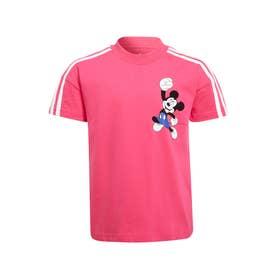 ディズニー ミッキーマウス 半袖Tシャツ (ピンク)