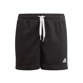 エッセンシャルズ 3ストライプス ショーツ /  Essentials 3-Stripes Shorts (ブラック)