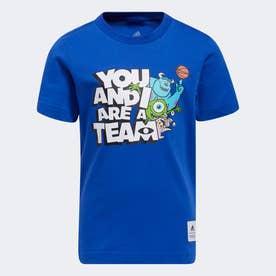 リトルキッズ You and I Are a Team Tシャツ (ブルー)