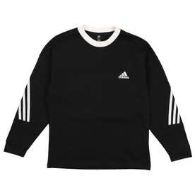 ジュニア 長袖Tシャツ H07284 (ブラック)