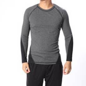 メンズ フィットネス 長袖コンプレッションインナー ALPHASKIN TEAM ロングスリーブTシャツ CD7207