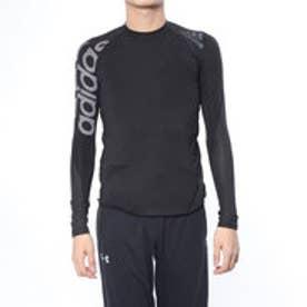 メンズ フィットネス 長袖コンプレッションインナー ALPHASKIN TEAM ビッグロゴロングスリーブTシャツ DW4147