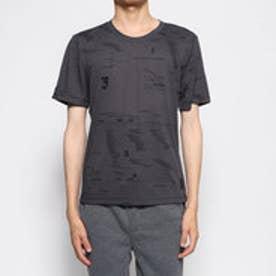 メンズ ゴルフ 半袖シャツ ADICROSS オールオーバープリント Tシャツ DY3230