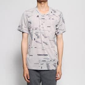メンズ ゴルフ 半袖シャツ ADICROSS オールオーバープリント Tシャツ DZ9927