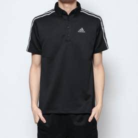 メンズ ゴルフ 半袖シャツ AP スリーストライプス 半袖ボタンダウンシャツ GD8471