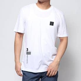 メンズ ゴルフ 半袖シャツ ADICROSS ソリッド半袖Tシャツ FK1099