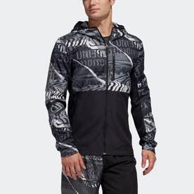 オウン ザ ラン グラフィック ジャケット / Own the Run Graphic Jacket (ブラック)