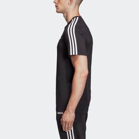 M CORE 3ストライプス Tシャツ (ブラック)