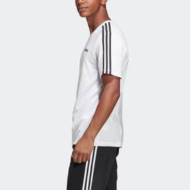 M CORE 3ストライプス Tシャツ (ホワイト)