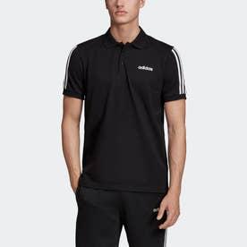 3ストライプス 半袖ポロシャツ / 3-Stripes Polo Shirt (ブラック)