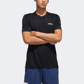 デザイン 2 ムーブ プレーン 半袖Tシャツ / Designed 2 Move Plain Tee (ブラック)