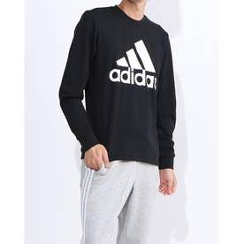 メンズ 長袖Tシャツ MMHBOSシングルジャージーLSTEE EB5266 (ブラック)