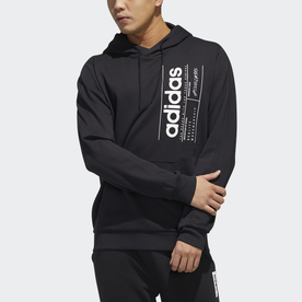 ブリリアント ベーシック フード付きスウェット / Brilliant Basics Hooded Sweatshirt (ブラック)
