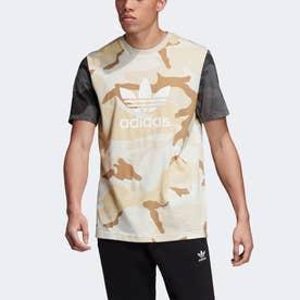カモフラージュ ミックス 半袖Tシャツ / Camouflage Mix Tee (ベージュ)